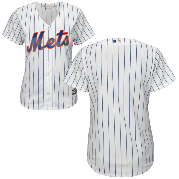 890782d747a Womens Majestic Blank Blank Cool Base White Authentic Home New York Mets Baseball  Jersey