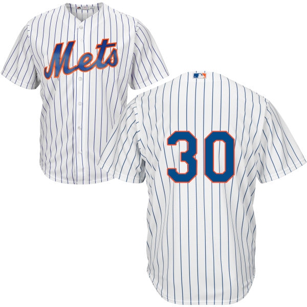 5ab7e3412 Mens Majestic Michael Conforto no. 30 White Home Authentic Cool Base New  York Mets Baseball Only Number Jersey - New York Mets Fanatics